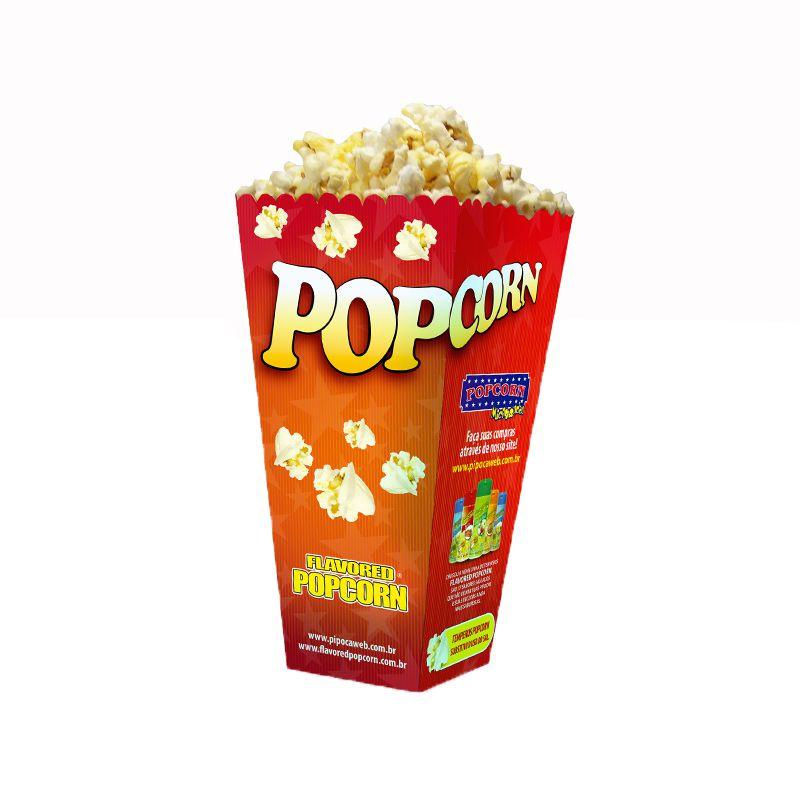 Embalagem Cinema Popcorn BOX POP (Média)