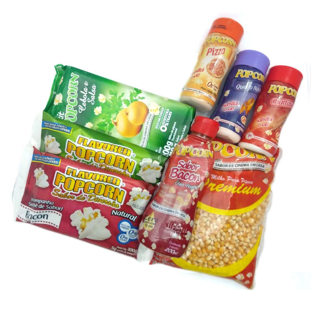 Kit Popcorn de cinema em casa nº5.