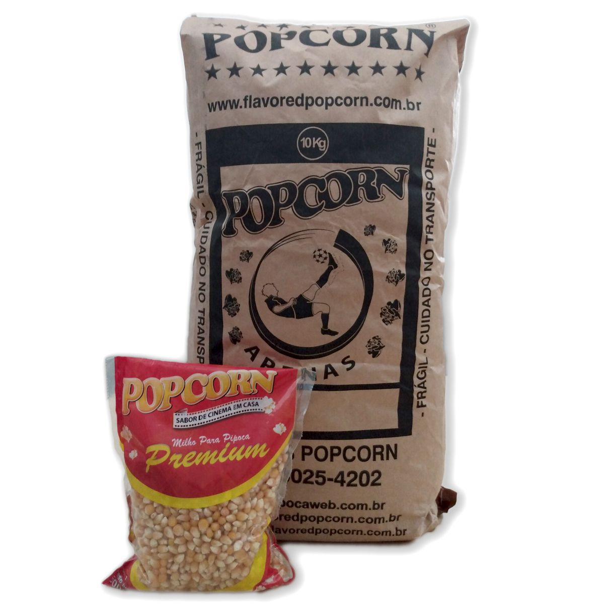 Milho para Pipoca Premium POPCORN 10kg