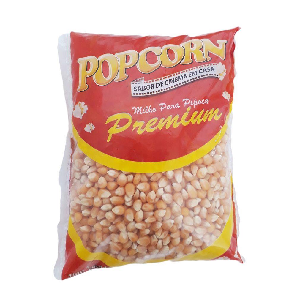 Milho Pipoca Premium POPCORN  Pct 500g