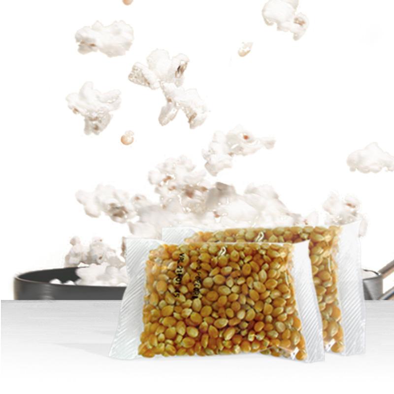 Pipoca 200g milho + Óleo sabor Manteiga + 05 sachê de Manteiga
