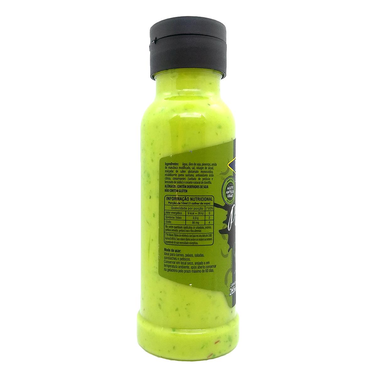 Molho Verde de Pimenta de Cheiro Flavored Popcorn 270 ml.