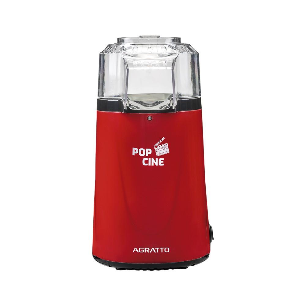 Pipoqueira Elétrica POP CINE PP Vermelha com Dosador 1200W Agratto.