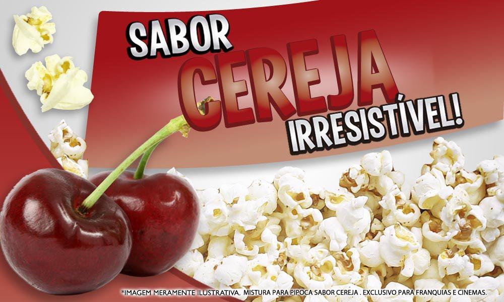 Sabores p/ caramelizar  Pipoca Doce - Cereja - 1kg