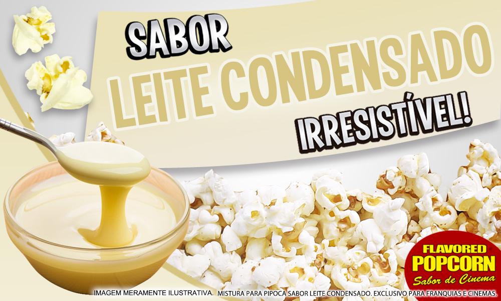 Sabores p/ caramelizar Pipoca Doce - Leite Condensado - 1kg
