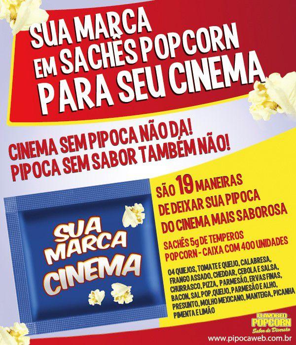 TemperoS Popcorn Sachês 5g - Manteiga (100 unidades)