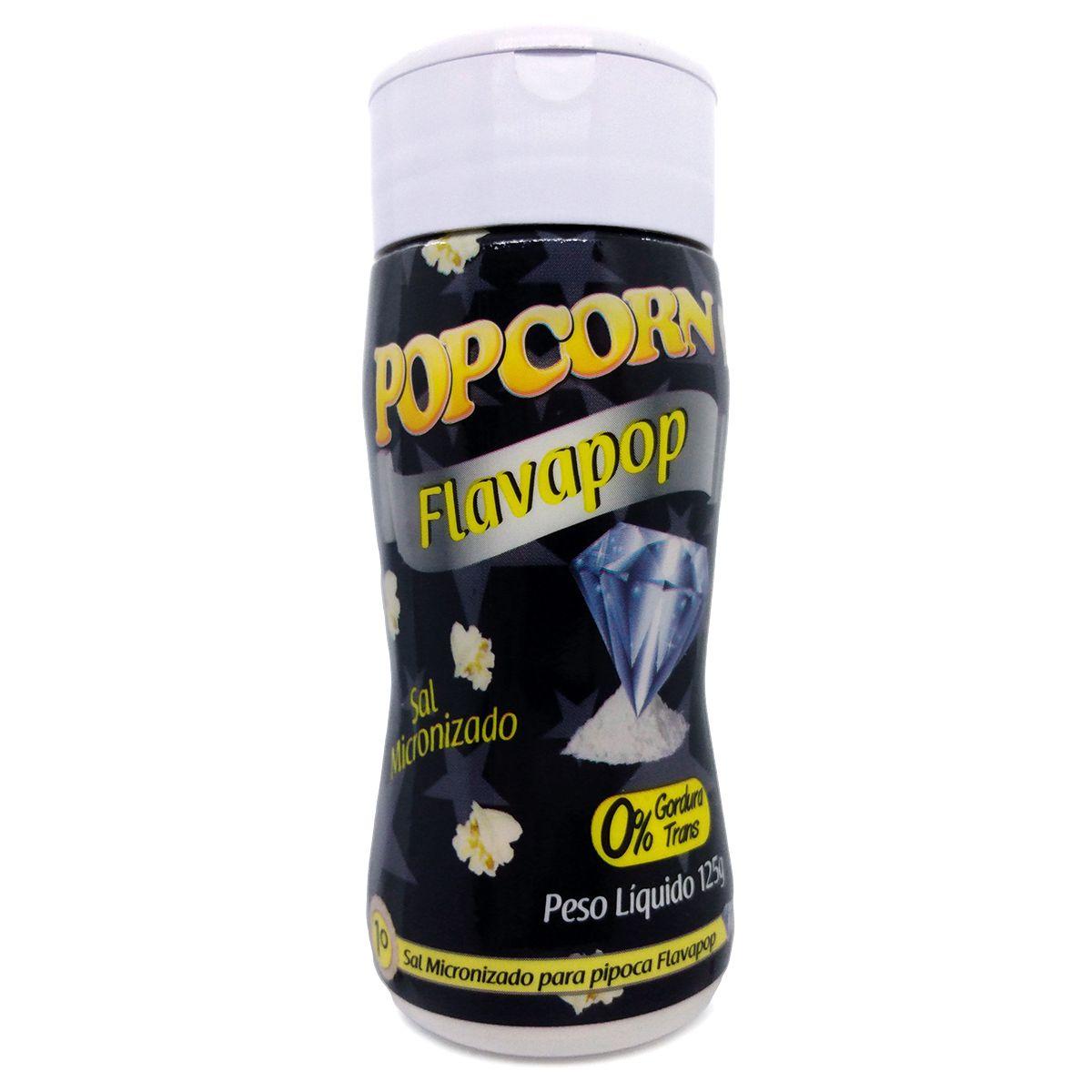 FLAVAPOP - Original de Cinema - Micronizado Manteiga Popcorn - segredo da Pipoca dos Cinemas.