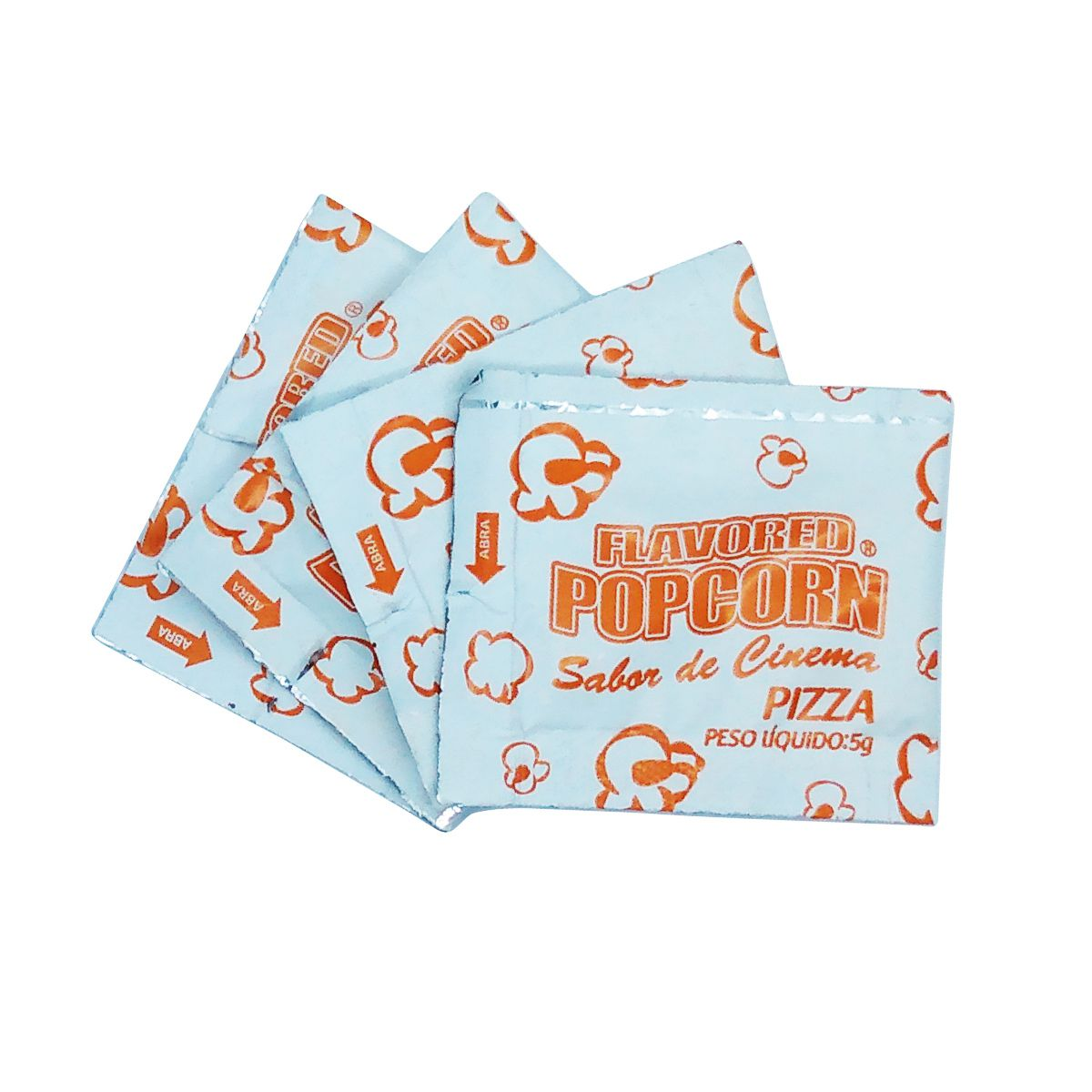 TemperoS Popcorn Sachês 5g - Pizza (100 unidades)