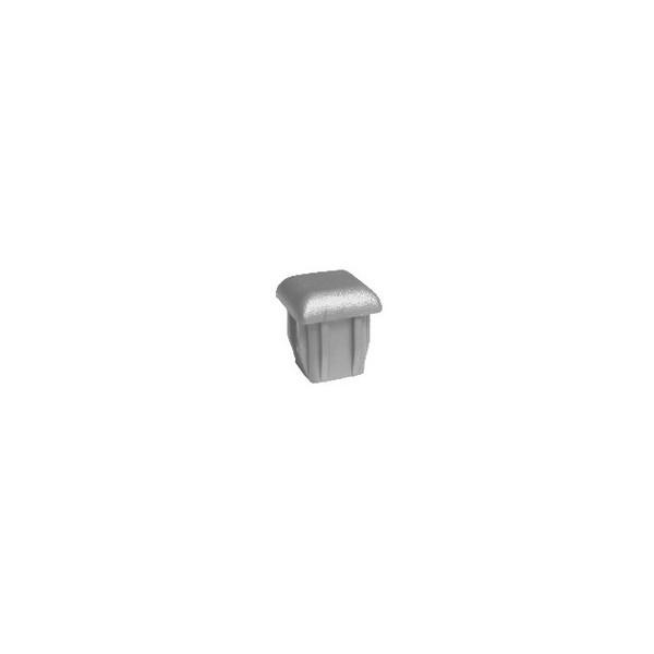 Ponteira Plástica para Móveis Interna Prata