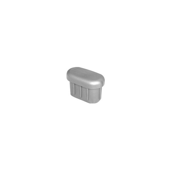 Ponteira 30 x 16 mm Interna Oblonga Prata c/ 500 unidades  - Emar - Loja Virtual