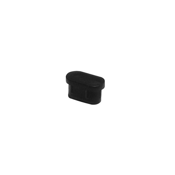 Ponteira 30 x 16 mm Interna Oblonga Preta c/ 500 unidades  - Emar - Loja Virtual