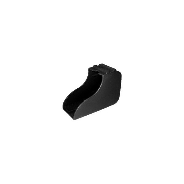Ponteira 50 x 30 mm Externa Bota Preta c/ 50 unidades  - Emar - Loja Virtual