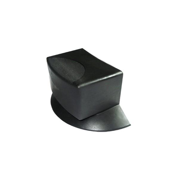 Ponteira 100 x 50 mm Externa em PVC c/ Calço  - Emar - Loja Virtual