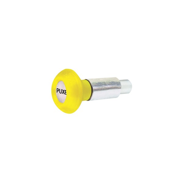 Puxador 1 Corpo - Modelo 1 c/ Esférico Amarelo  - Emar - Loja Virtual