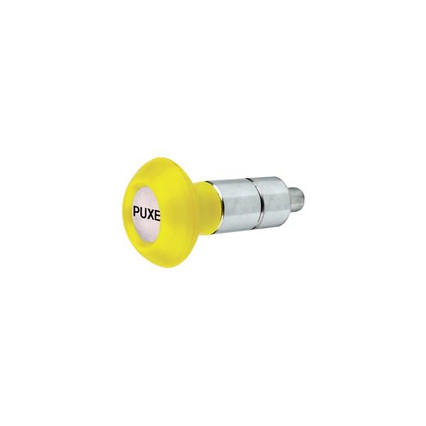 Puxador 2 Corpos - Modelo 1 c/ Esférico Amarelo  - Emar - Loja Virtual