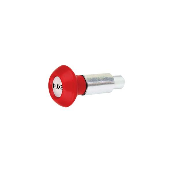 Puxador 1 Corpo - Modelo 1 c/ Esférico Vermelho  - Emar - Loja Virtual