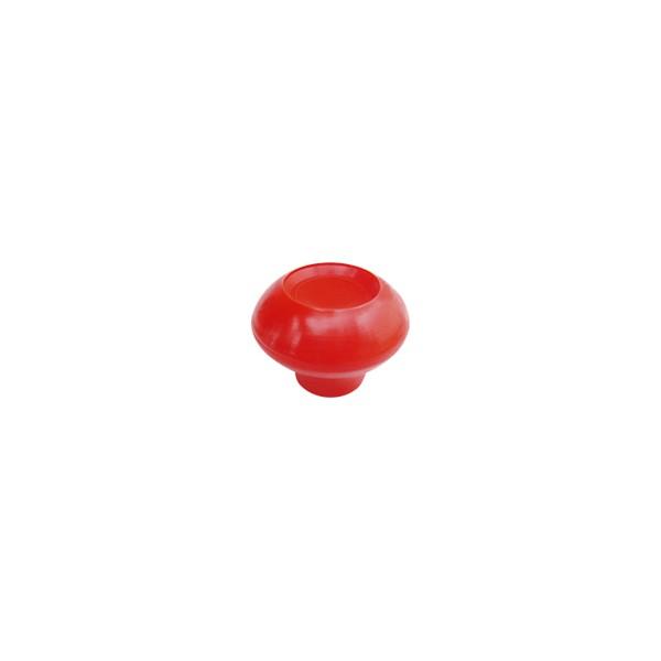 """Porca Manípulo 5/16"""" - Esférica Vermelha  - Emar - Loja Virtual"""