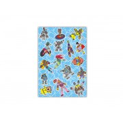 Sacos para Presente - Cartoon Azul com 100 unidades