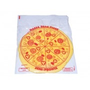 Sacos 35x40 cm Pizza c/ 100 unidades