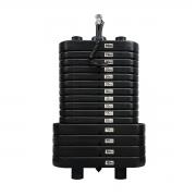 Bateria de Peso Injetada de 100 kg - Torre de Peso Revestida com PVC