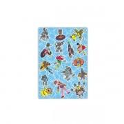 Kit com 1.000 Sacos para Presente - Cartoon Azul