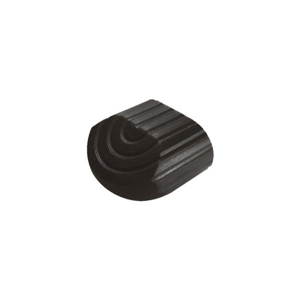 Ponteira 77 x 40 mm Externa Oblonga Deitada Preta c/ 50 unidades  - Emar - Loja Virtual