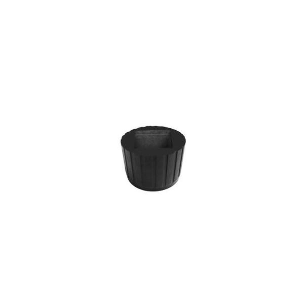 Ponteira 50x50 mm x 60 mm Externa PVC - Estriada  - Emar - Loja Virtual
