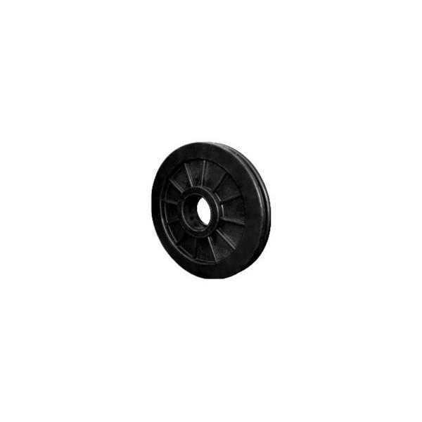 Roldana Nylon 125 mm p/ 1 Rolamento  - Emar - Loja Virtual