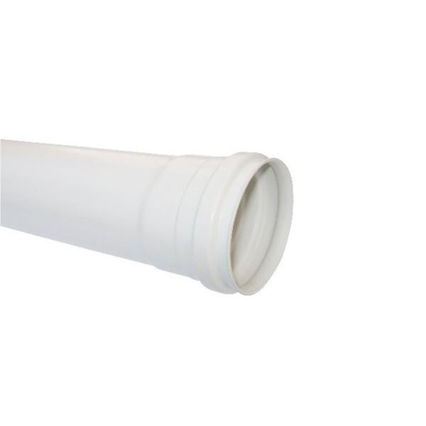 Tubos em PVC Branco p/ Esgoto - 6 mts  - Emar - Loja Virtual