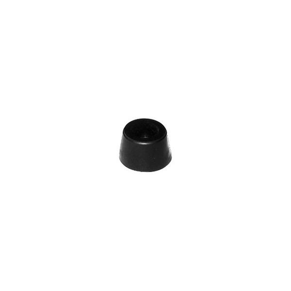 """Batente Pequeno Cônico 3/8"""" PVC Preto c/ 1.000 unidades  - Emar - Loja Virtual"""