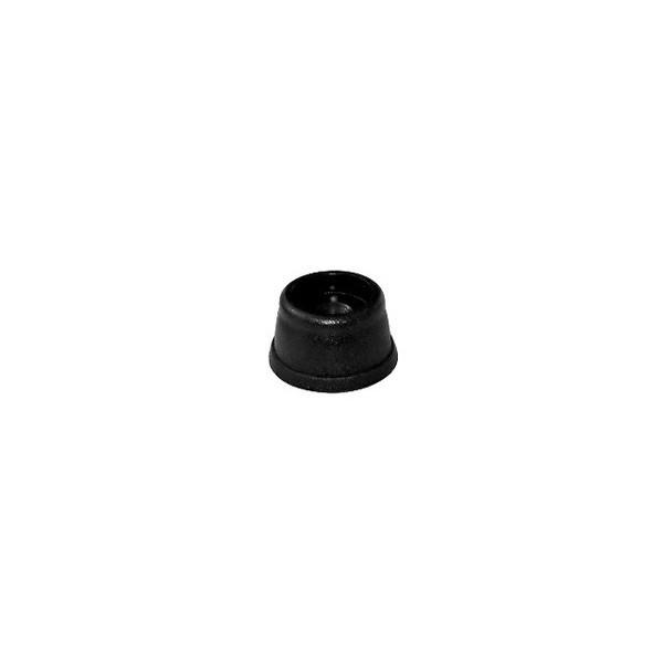 Pé de Sofá 17 mm Preto c/ 500 unidades  - Emar - Loja Virtual