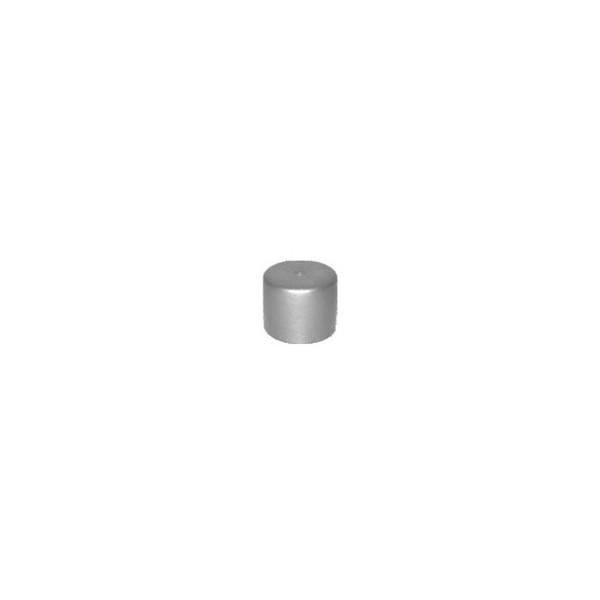 Ponteira Plástica para Móveis Externa Prata