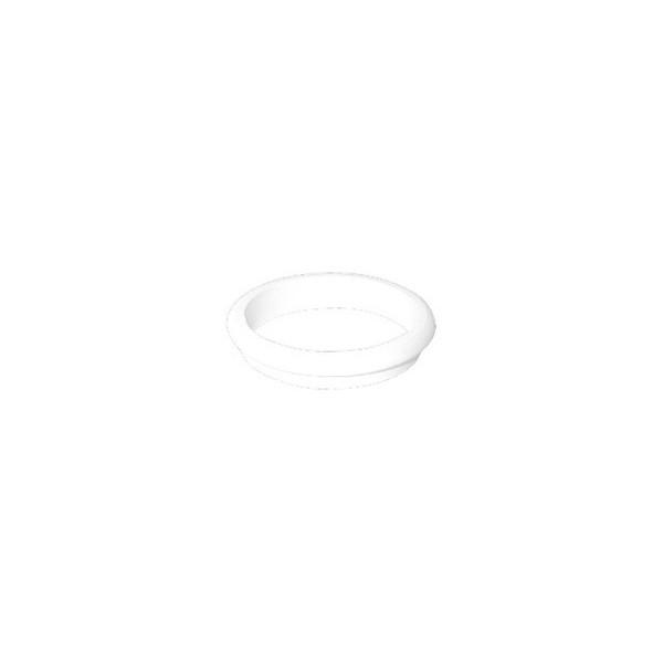 Ponteira Plástica para Móveis Vazada Branca