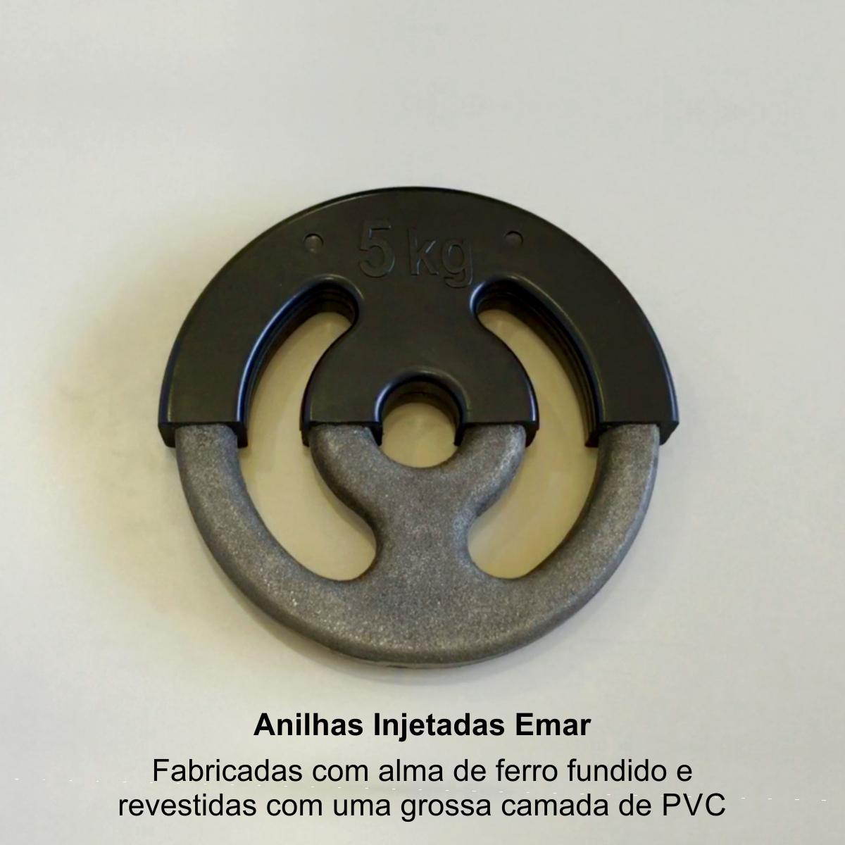 "Anilha Injetada com Furo Olímpico 2"""