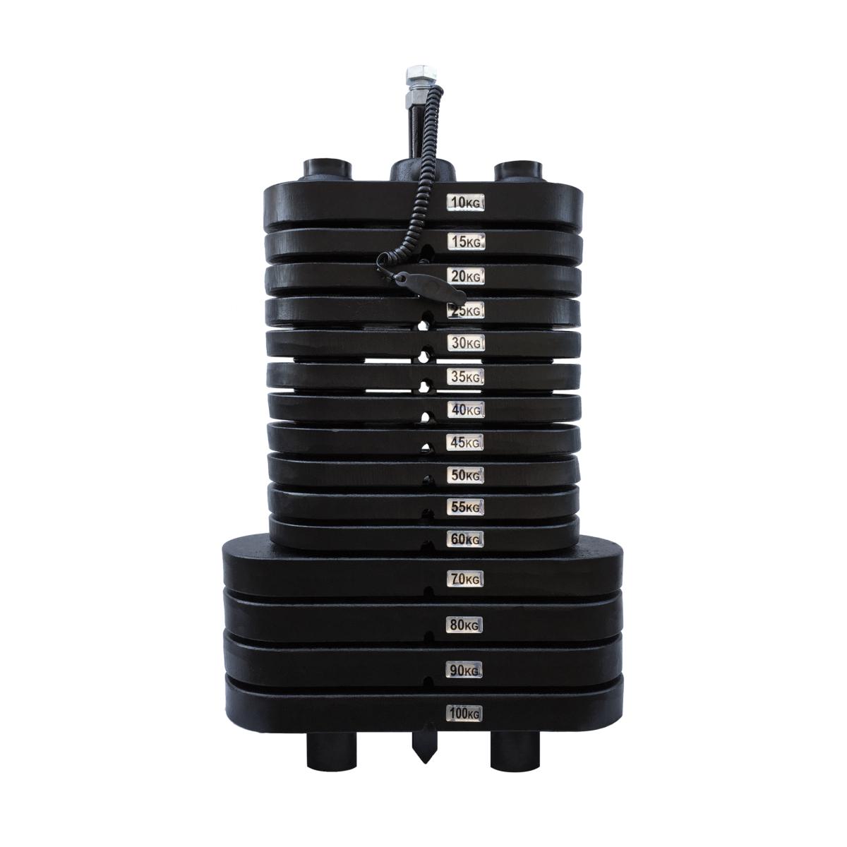 Bateria de Peso Montada 100 kg - Pintada