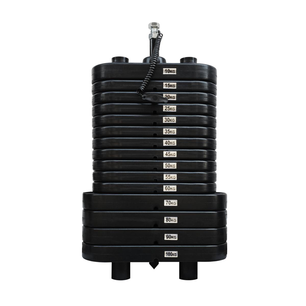 Bateria de Peso Montada 100 kg - Injetada