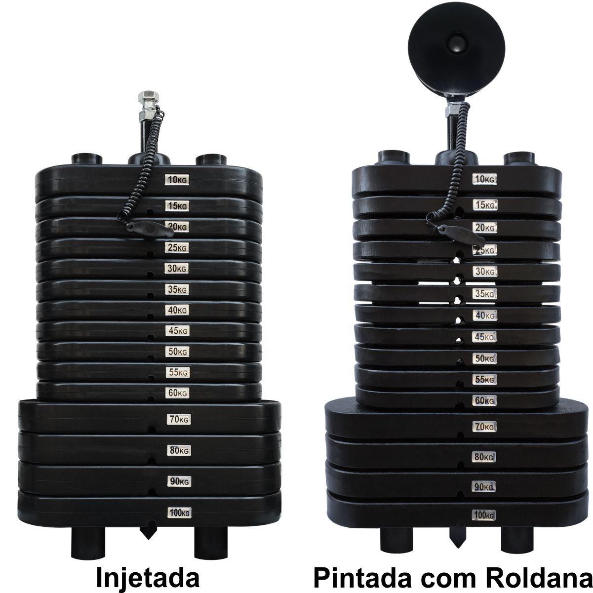 Baterias de Peso Montadas para Equipamentos Fitness