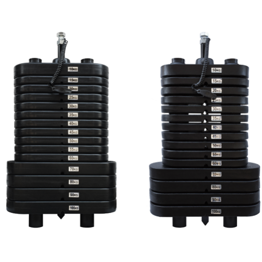 Baterias de Peso Montadas  - Emar - Loja Virtual