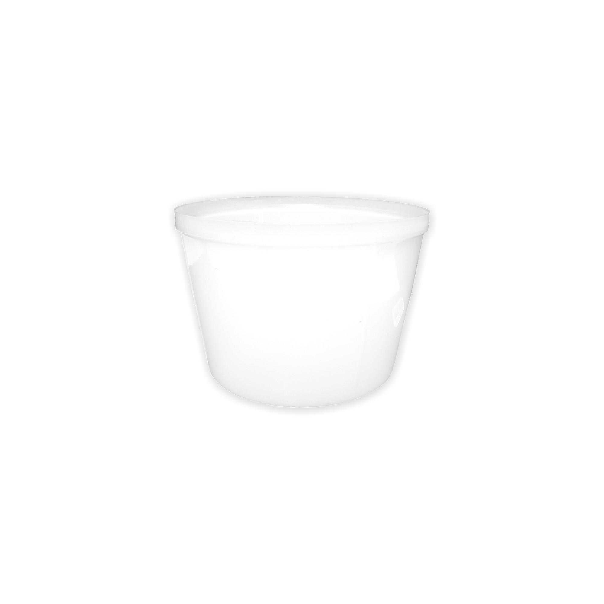Cumbuca Plástica Incolor para Sopa