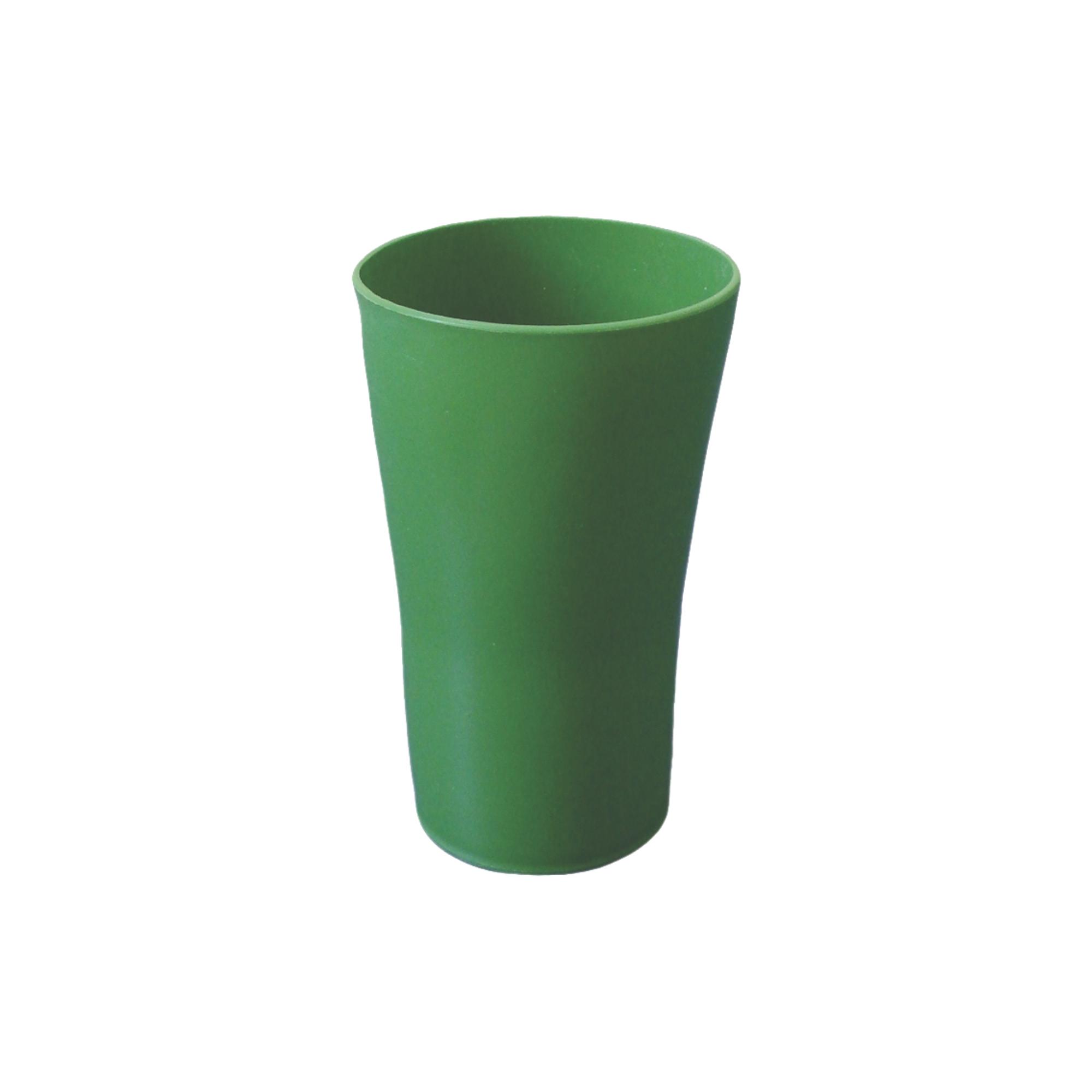 Kit com 12 Copos Plásticos Verdes