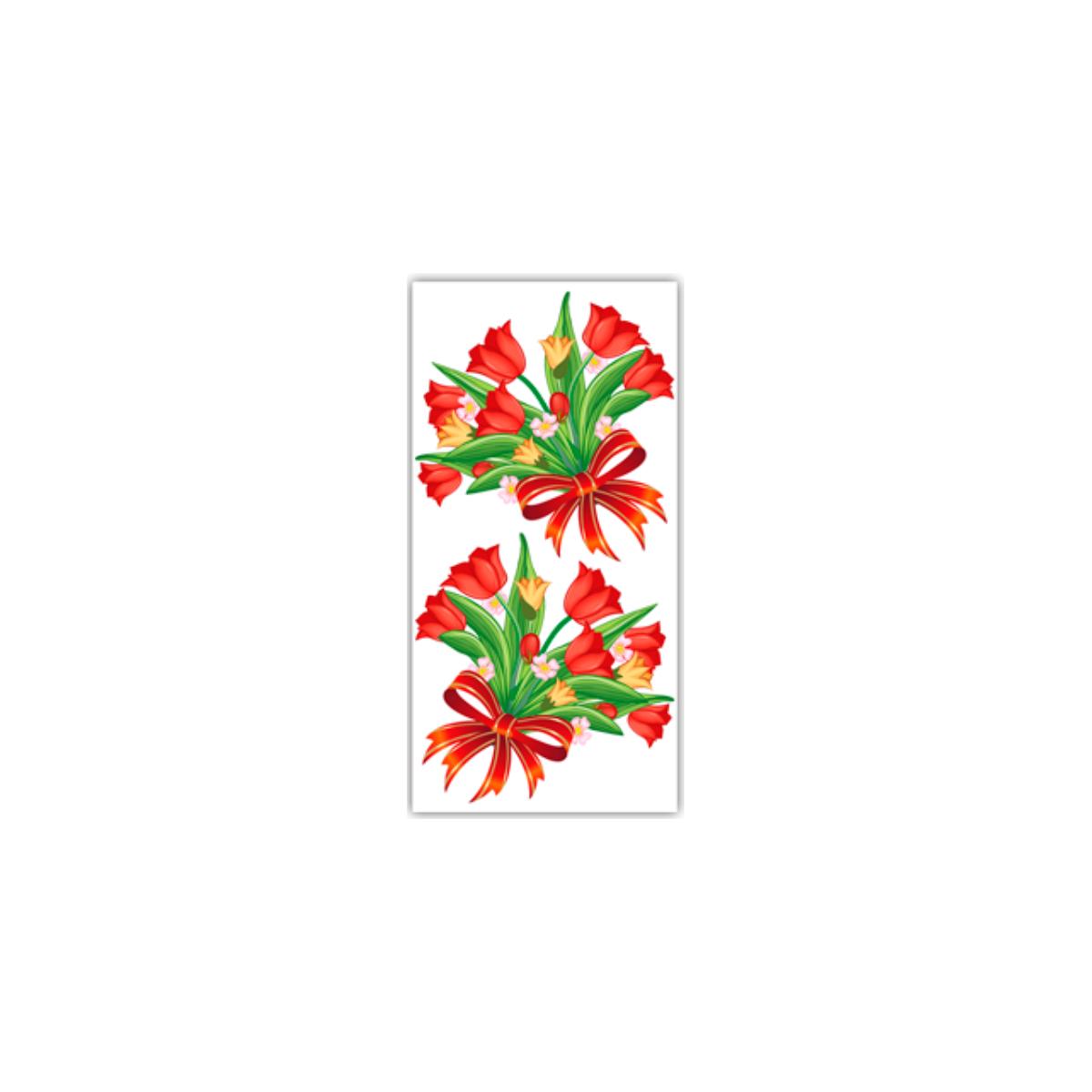Kit com 1.000 Sacos para Presente - Rosa Vermelha
