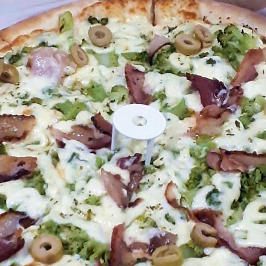 Kit com 500 Mesinhas Plásticas para Pizzas