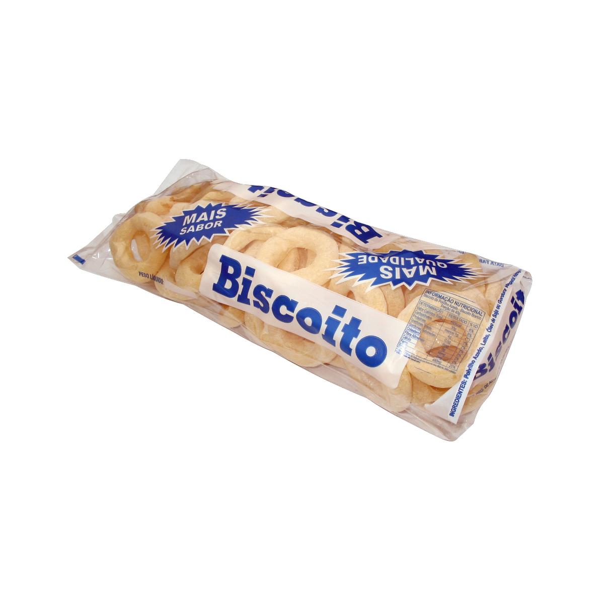 Sacos para Biscoito Polvilho Grande Azul com 100 unidades