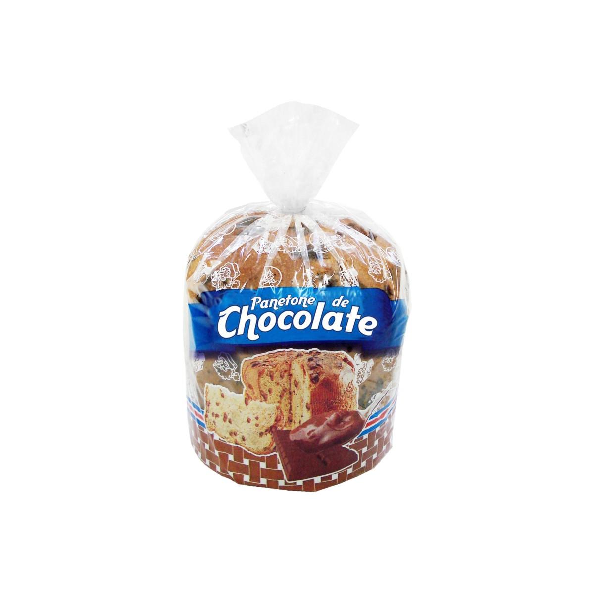 Sacos para Panetone de Chocolate com 100 unidades