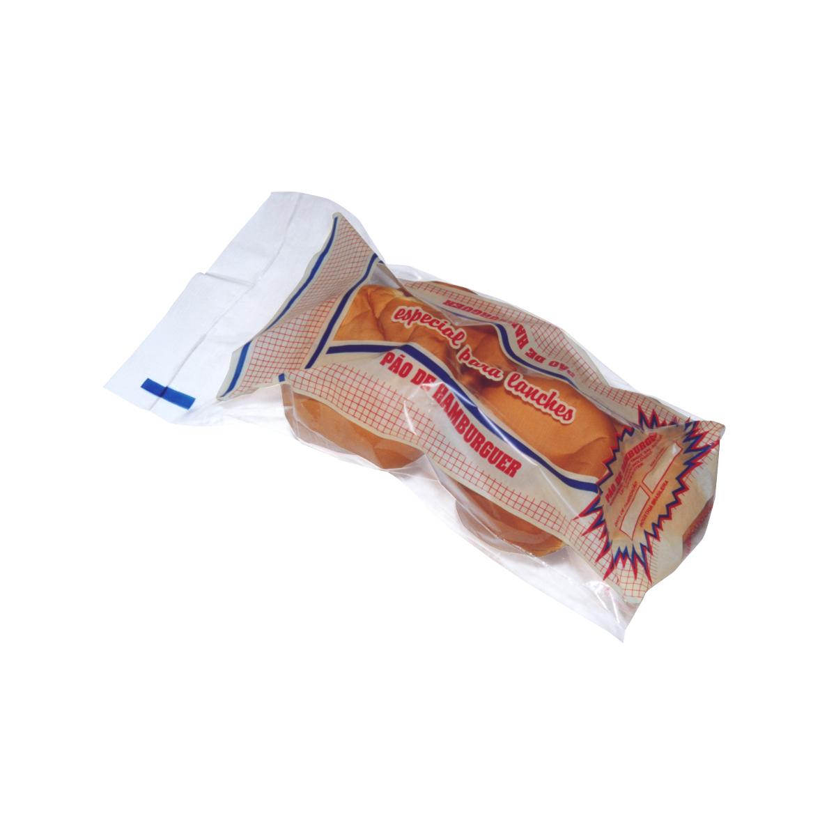 Sacos para Pão de Hamburguer com 100 unidades