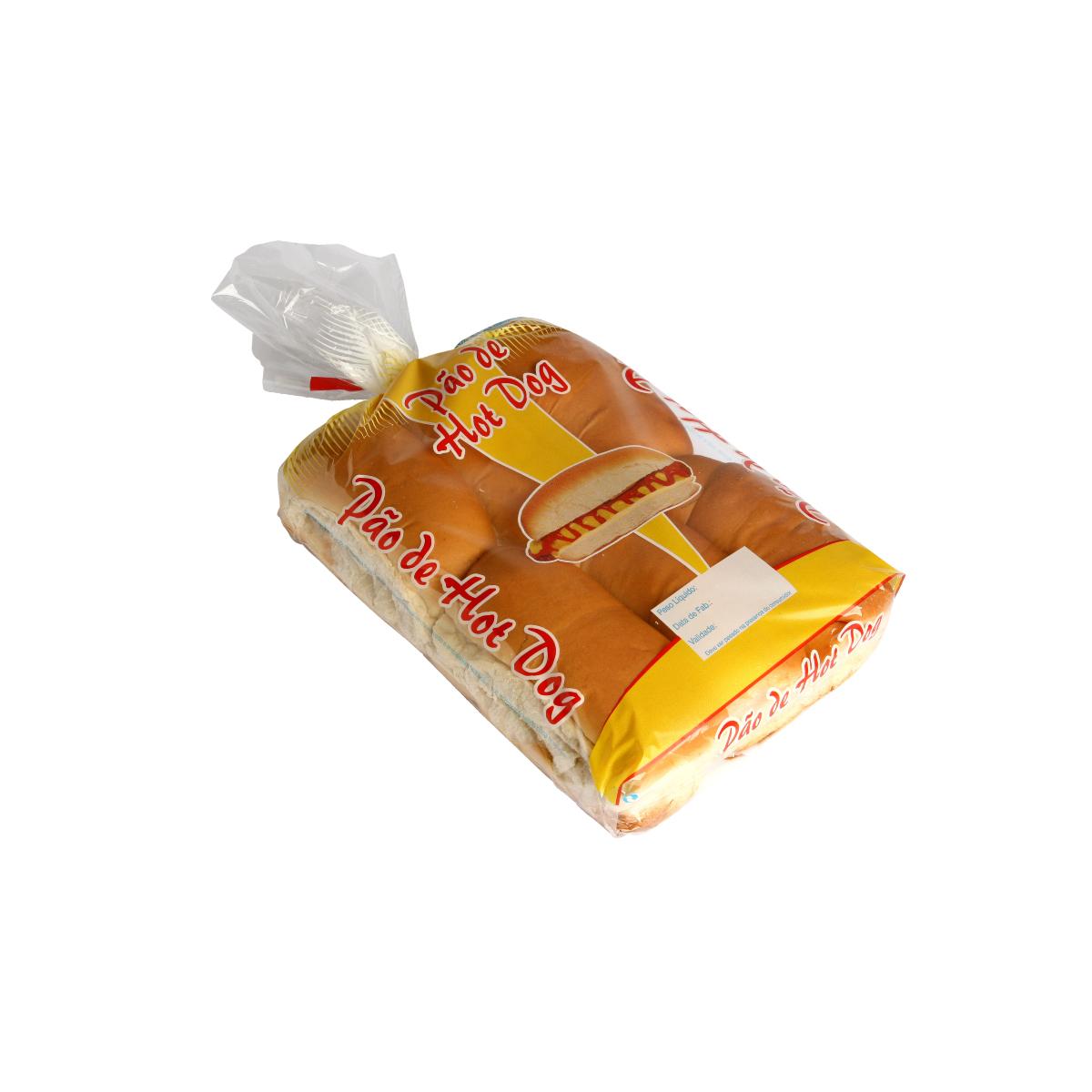 Sacos para Pão de Hot Dog com Foto com 100 unidades