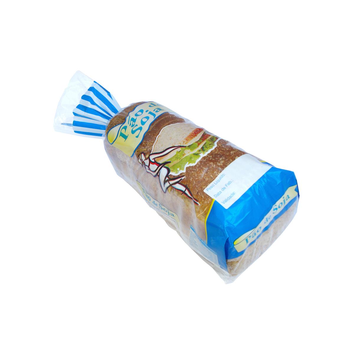 Sacos para Pão de Soja com Foto com 100 unidades