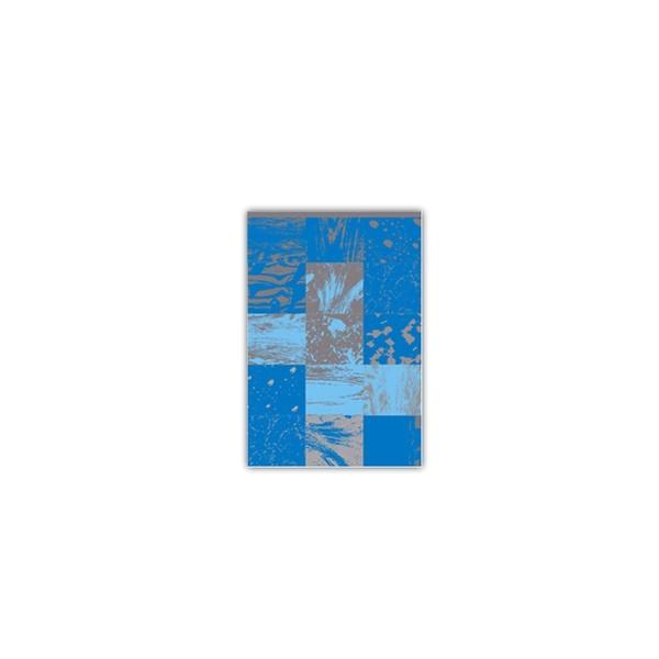 Sacos para Presente Metalizado - Quadrado Azul com 1.000 unidades