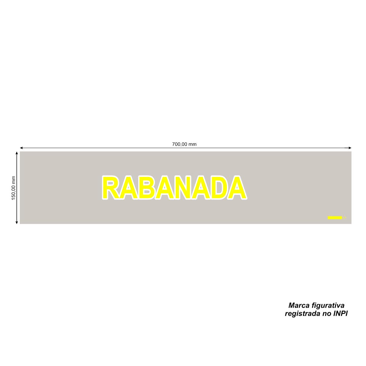 Sacos para Rabanada Amarela com 1.000 unidades