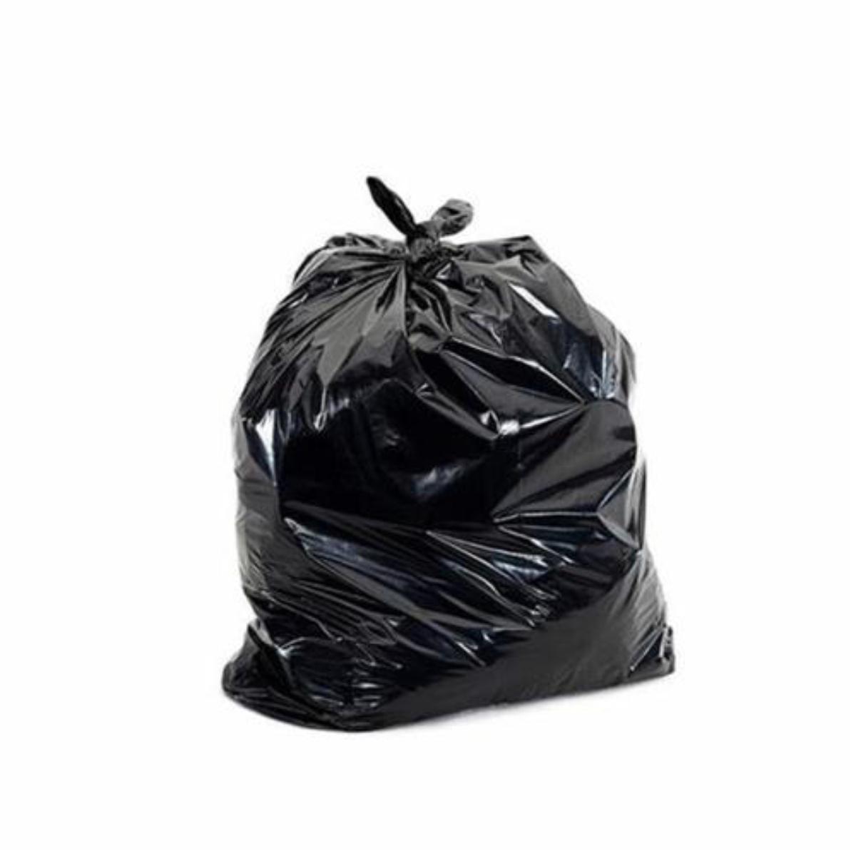 Sacos Pretos para Lixo com 50 unidades